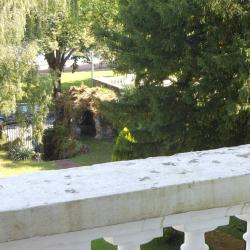 Vue du jardin, depuis la terrasse