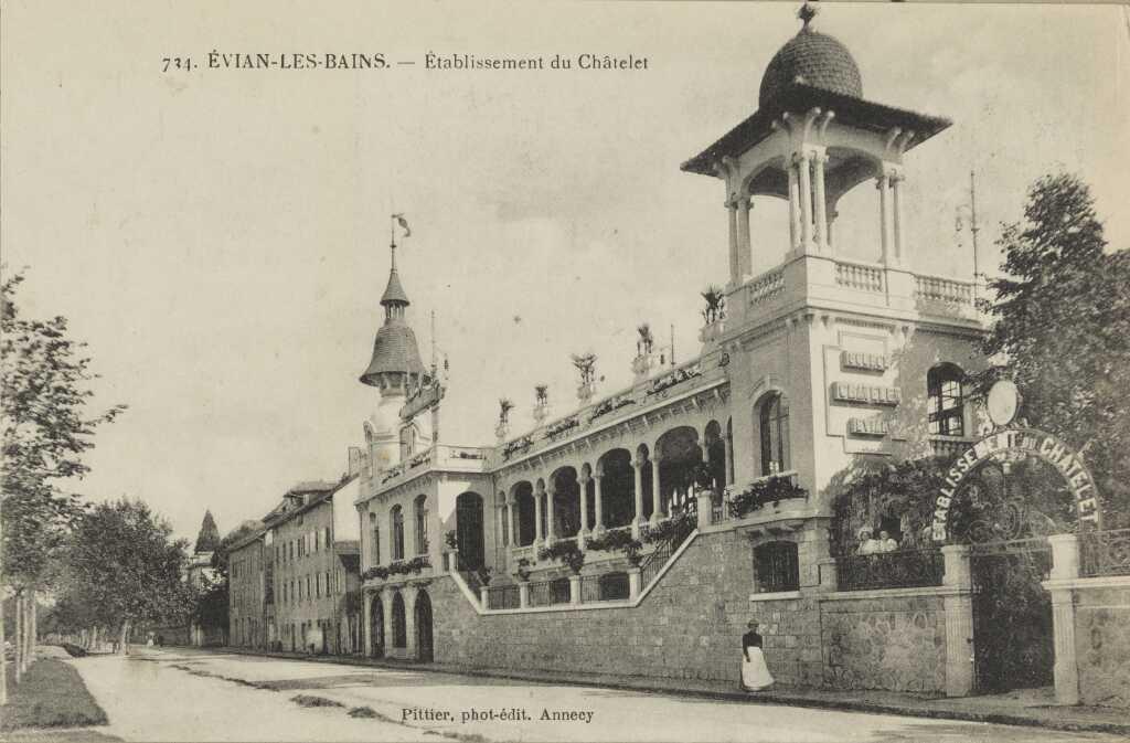 Établissement du Châtelet - Façade sur rue.