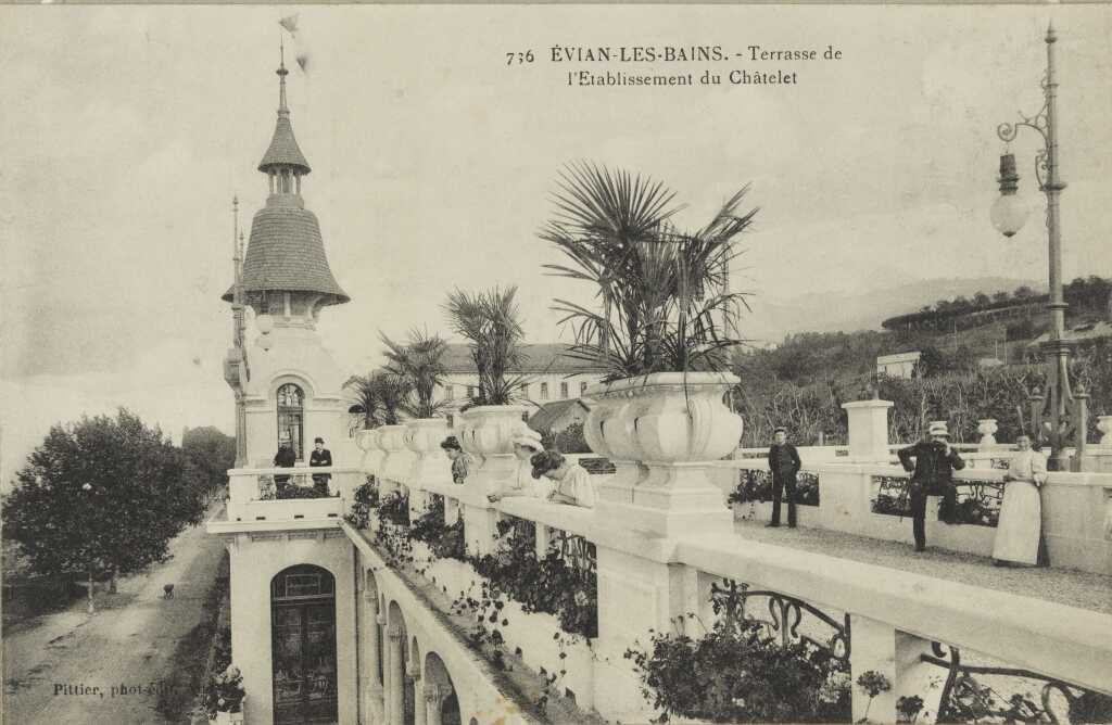 Terrasse de l'établissement du Châtelet