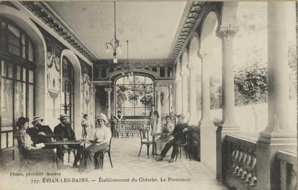 Établissement du Châtelet - Le promenoir