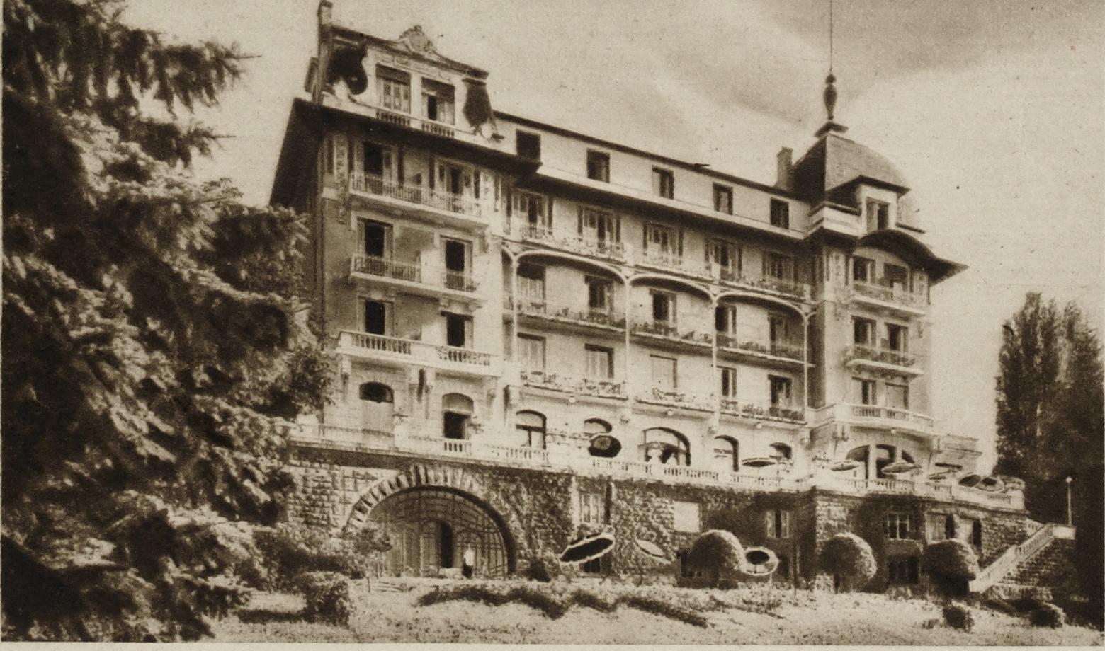 Façade nord de l'hôtel du Châtelet