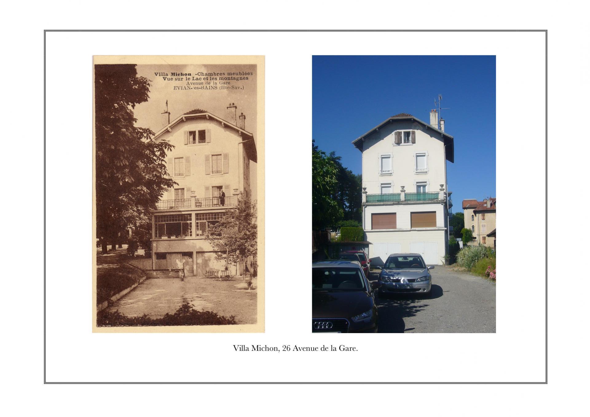 Villa Michon, 26 avenue de la Gare