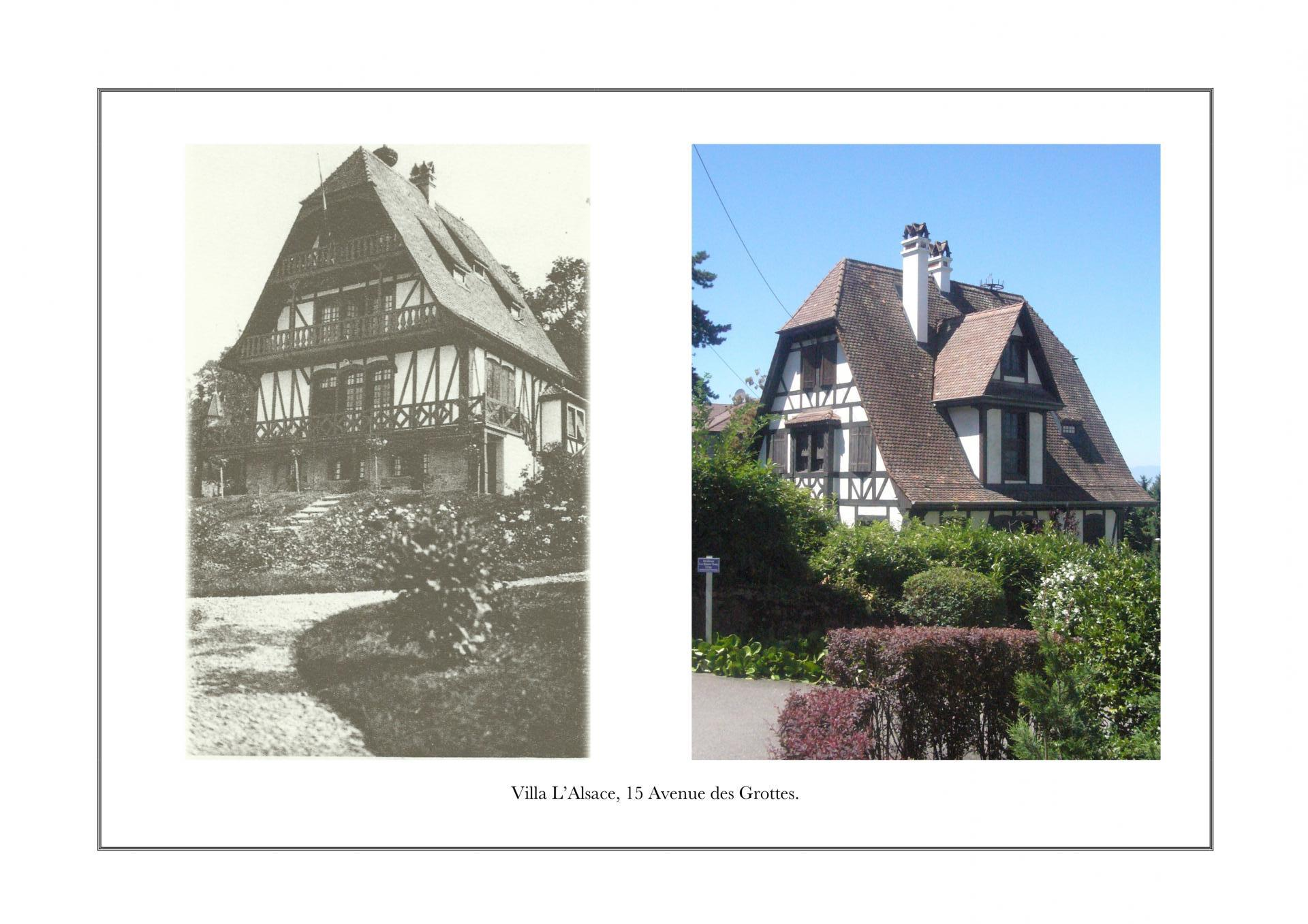 Villa L'Alsace, 15 avenue des Grottes