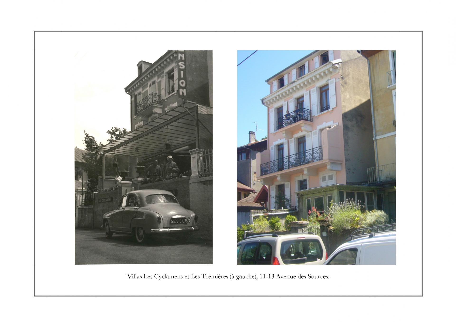 Villa Les Cyclamens, 11 avenue des Sources