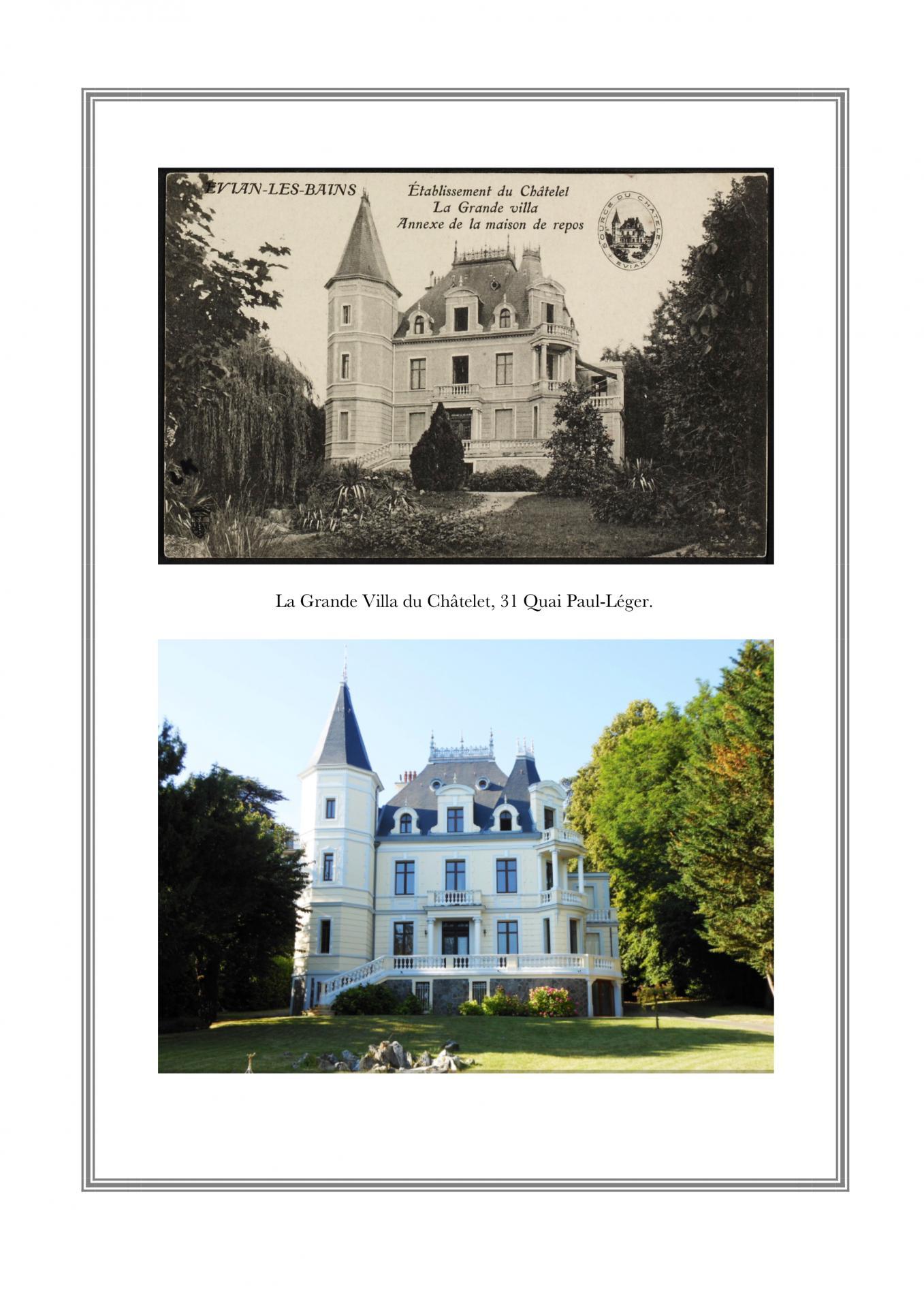 Villa du Châtelet, 31 Quai Paul-Léger