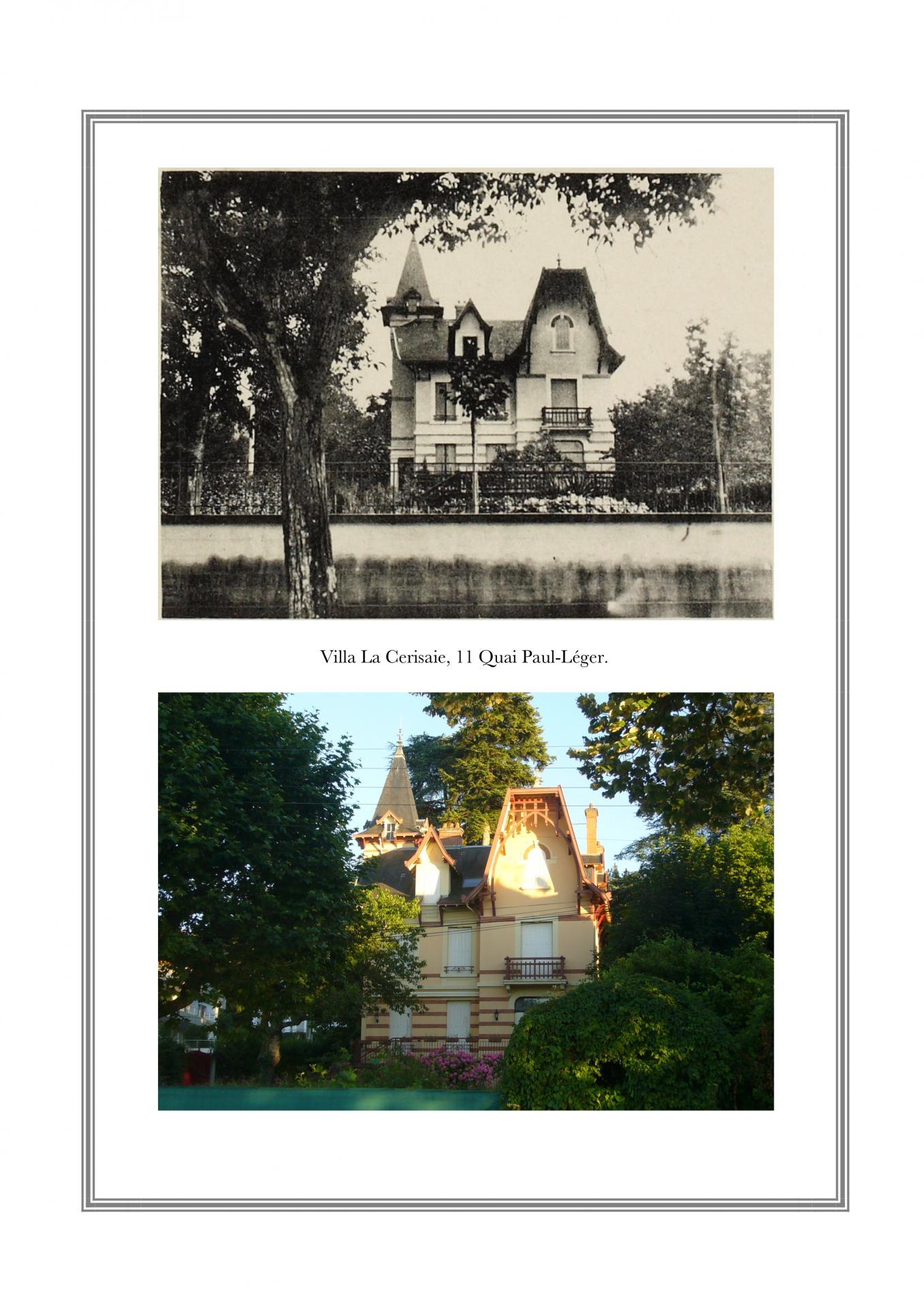 Villa La Cerisaie, 11 Quai Paul-Léger