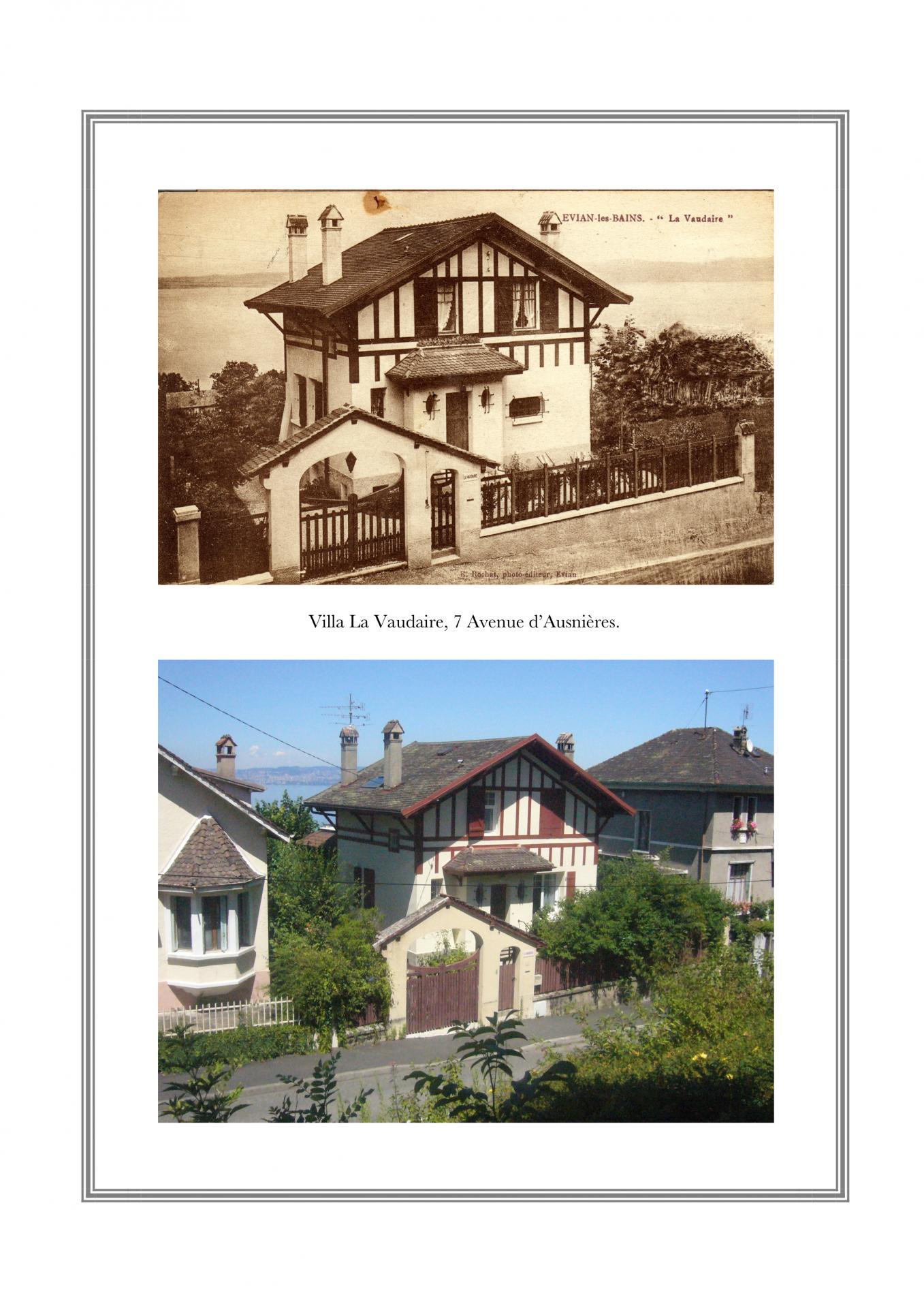 Villa La Vaudaire, 7 avenue d'Ausnières