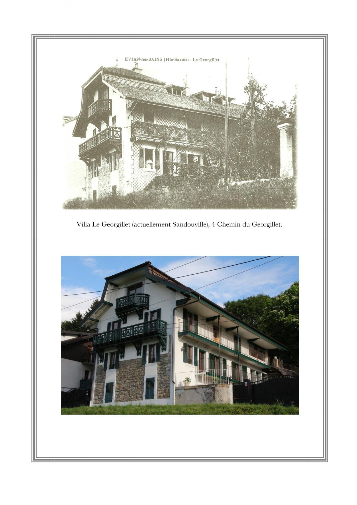 Villa Le Georgillet (Sandouville), 4 chemin du Georgillet