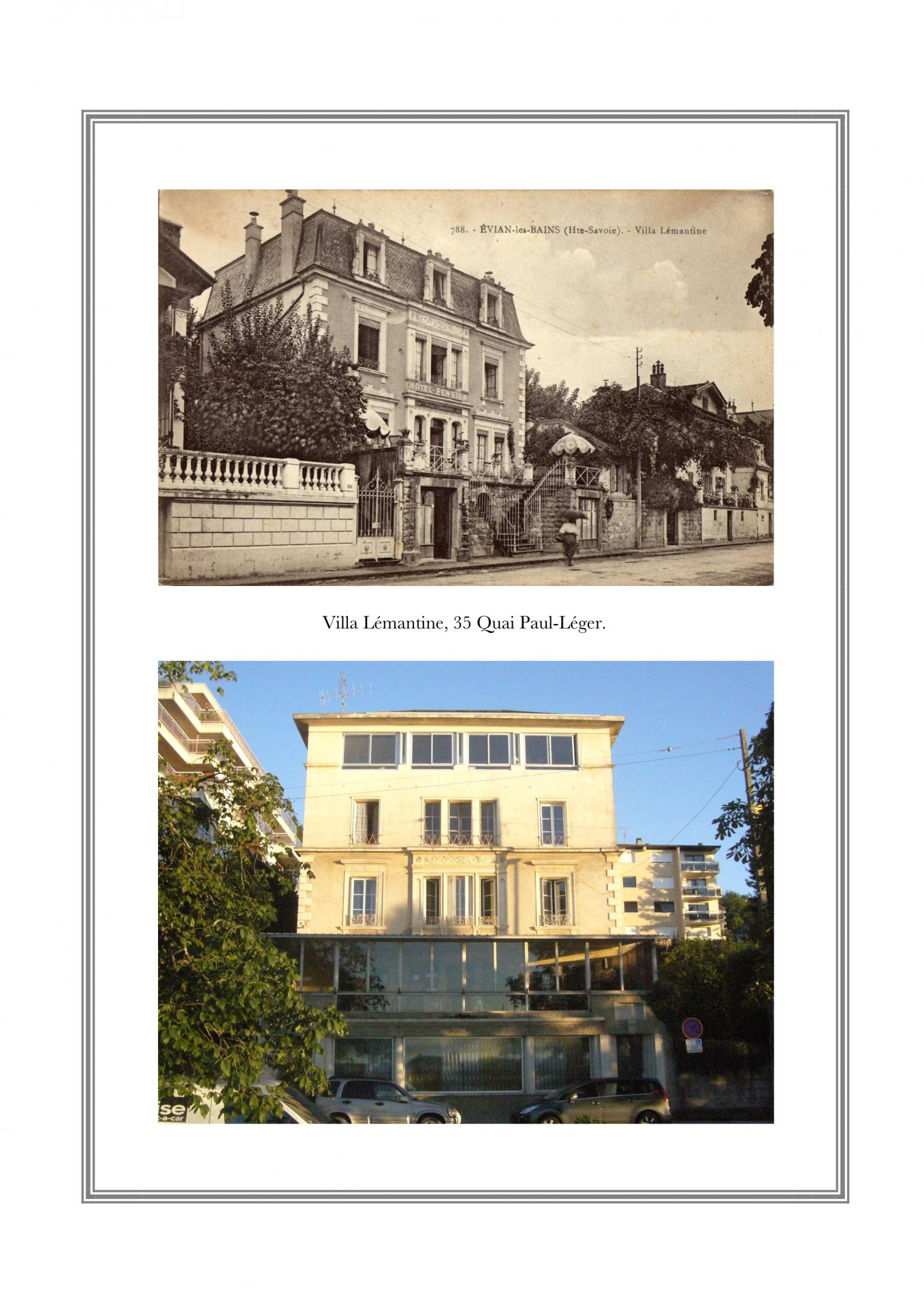Villa Lémantine, 35 Quai Paul-Léger