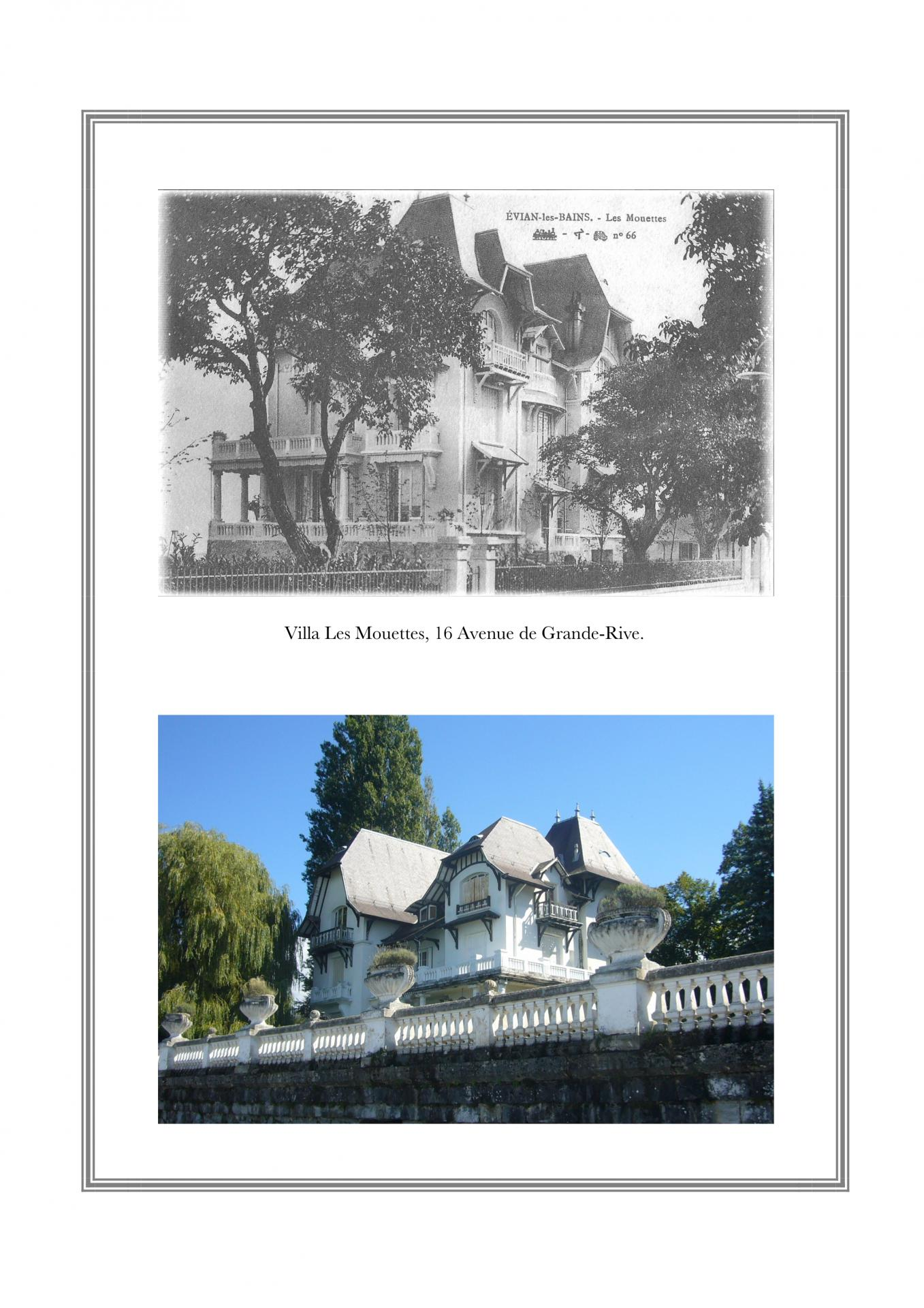 Villa Les Mouettes, 16 avenue de Grande-Rive