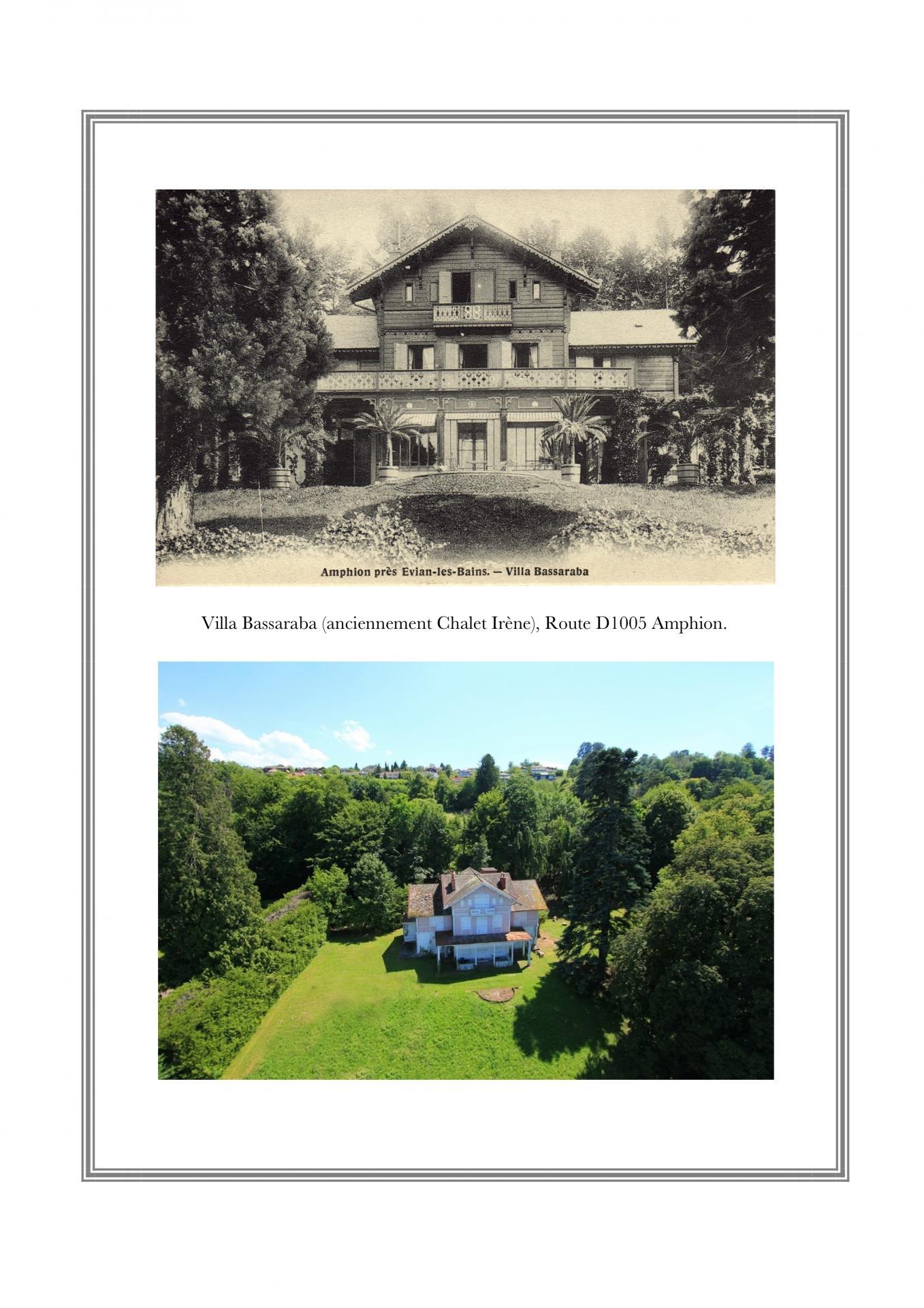 Villa Bassaraba, Rte D1005