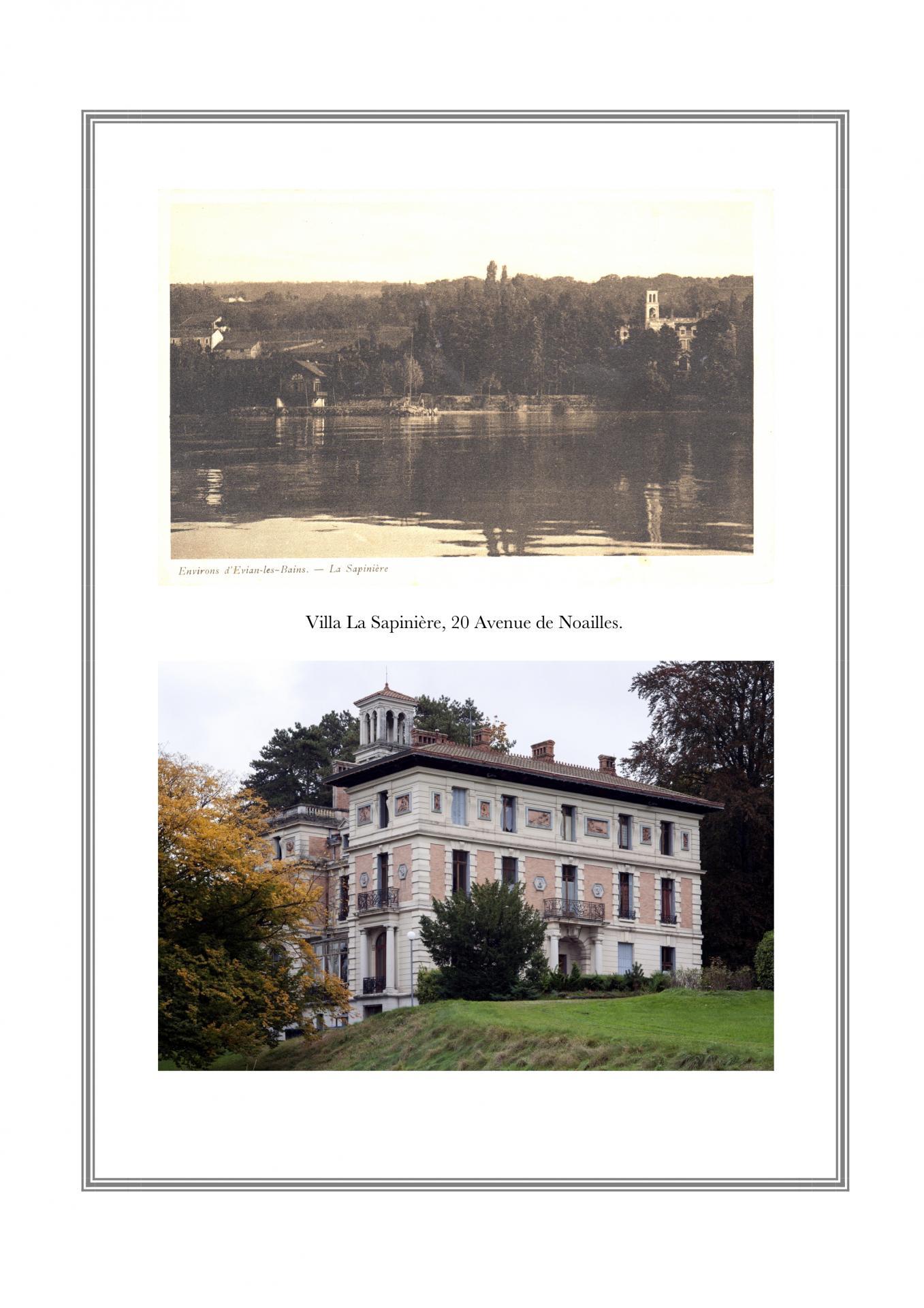 Villa La Sapinière, 20 avenue de Noailles