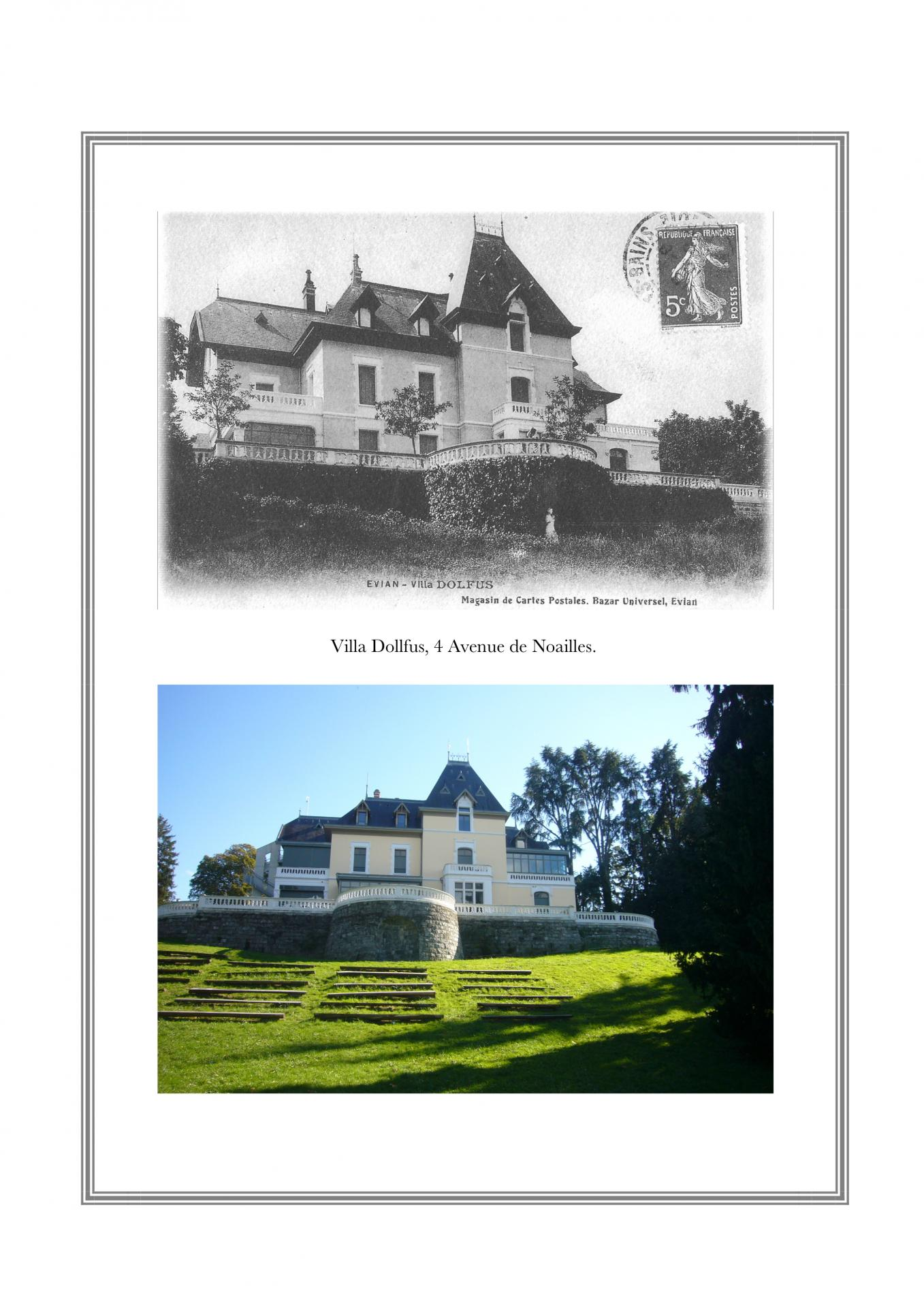 Villa Dollfus, 4 avenue de Noailles