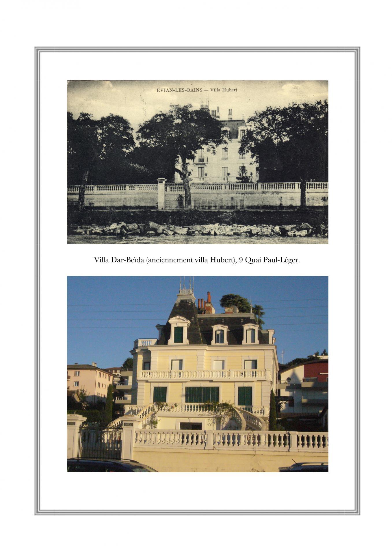 Villa Hubert (Dar Beïda), 9 Quai Paul-Léger