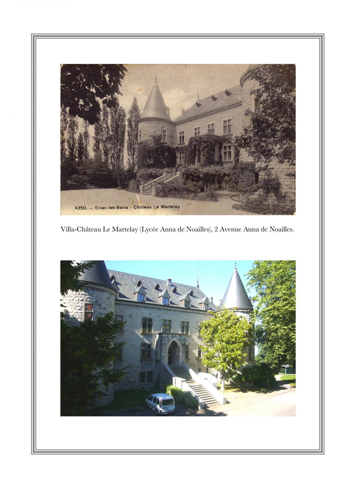 Villa-Château du Martelay  - 2, avenue de Noailles