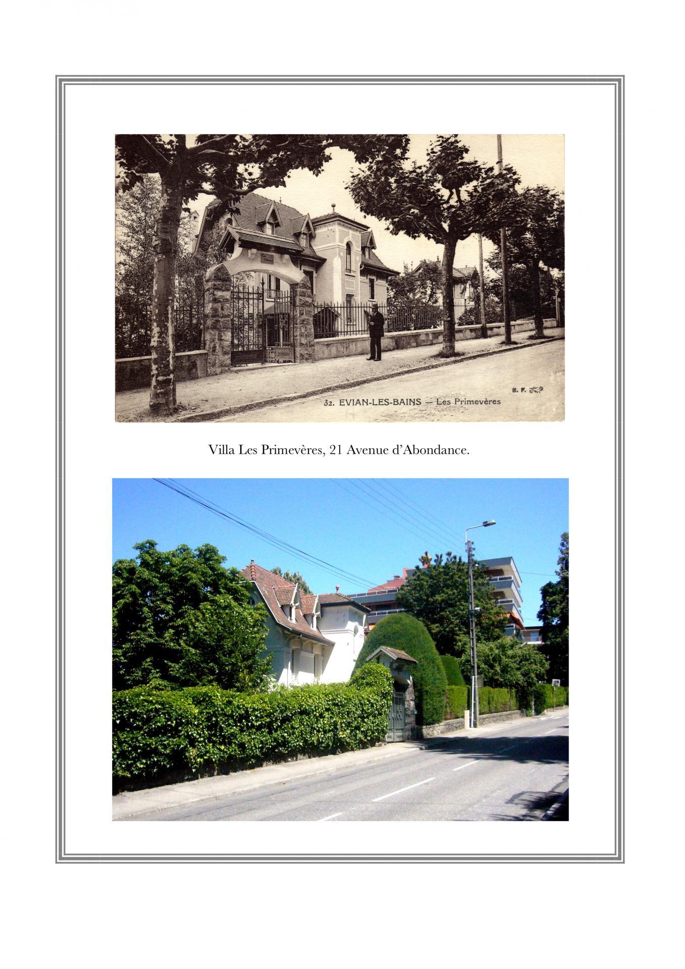 Villa Les Primevères - 7, avenue d'Abondance