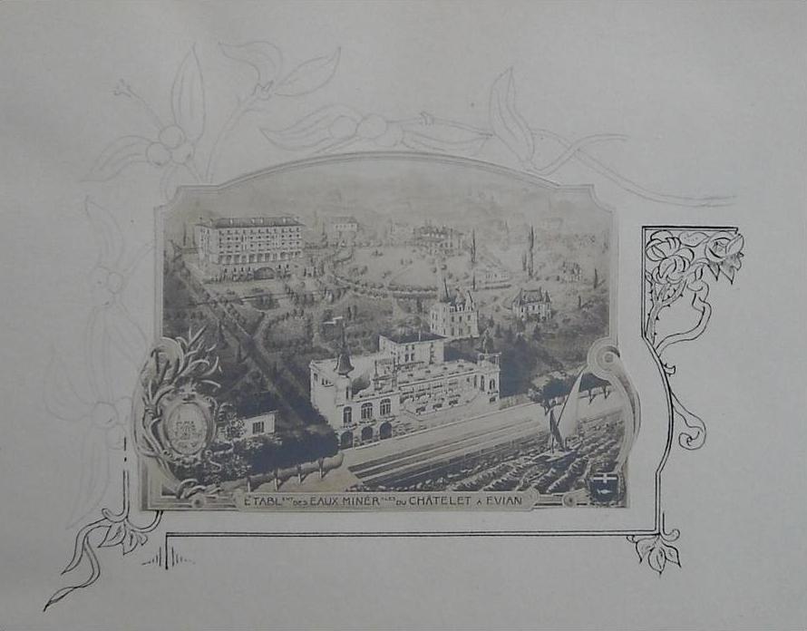 Panorama du domaine du Châtelet (1911)