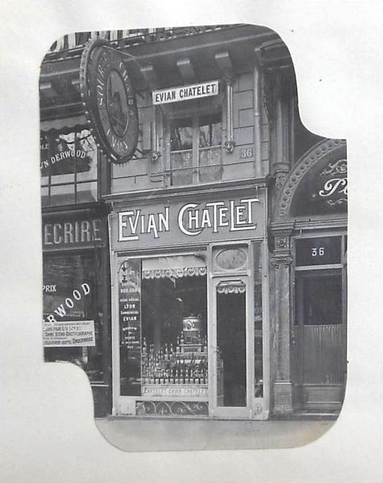 Boutique parisienne de la Source du Châtelet