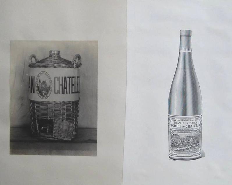 Estagnon et bouteille