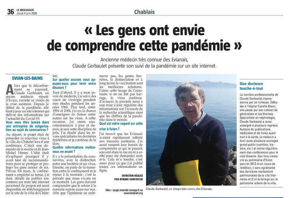 Article messager 4juin